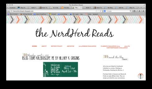 The NerdHerd Reads
